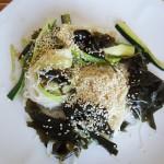 Noodles alle alghe nori