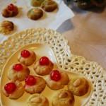 Biscottini di pasta di mandorle (prove di Natale #4) e grazie!