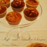 Muffin ai muesli e lamponi