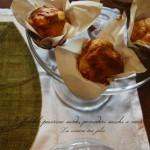 Muffin al pecorino sardo, pomodori secchi e noci