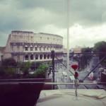Roma è più bella in un giorno di temporale..