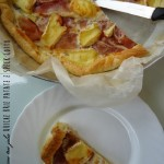 Quiche di brie, patate e speck cotto
