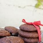 Cookies al cioccolato e sale dolce di Cervia