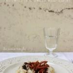 Risotto allo squaquerone, prosciutto e aceto balsamico