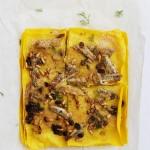 Lasagna di sarde uvetta e pinoli