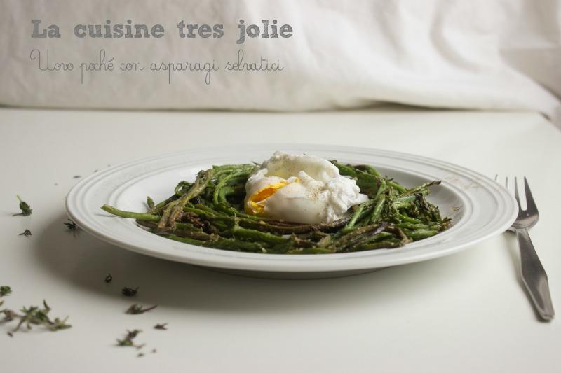 Uovo poché con asparagi 1