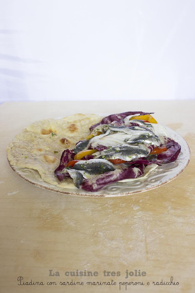 Piadina con sardine 2