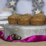 Muffin vegan alla frutta secca e zenzero