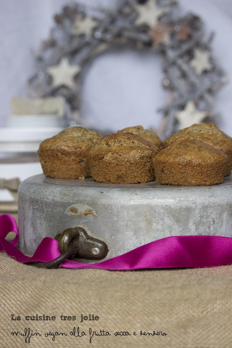 Muffin vegan frutta secca 1