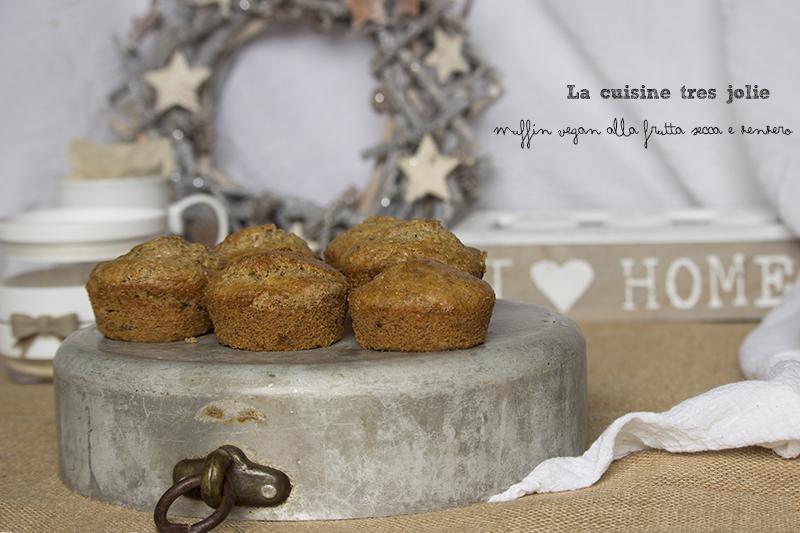 Muffin vegan frutta secca 3