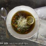 Zuppa di miso alle verdure e germogli