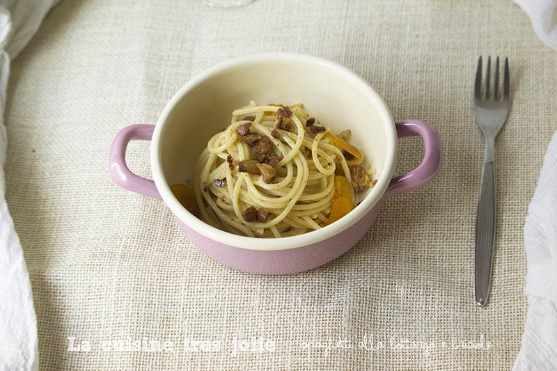 spaghetti alla bottarga e briciole 1