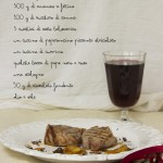 Filetto con chutney di ananas e cioccolato
