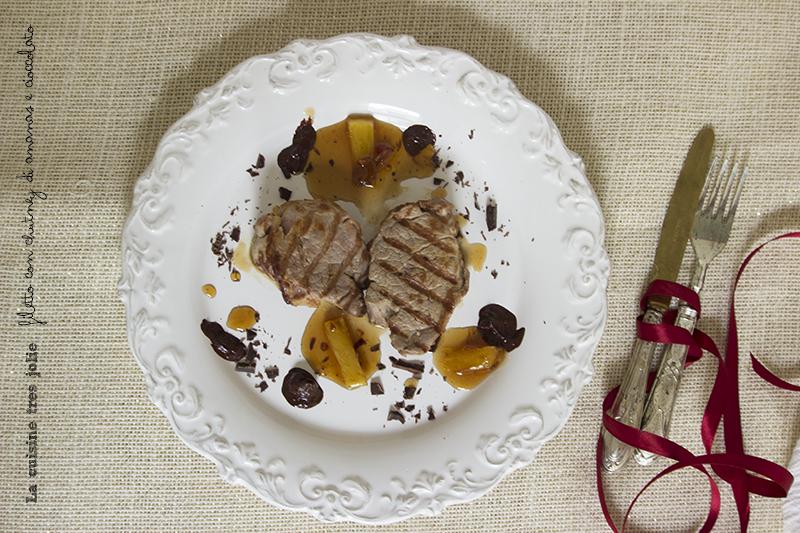 filetto ananas e cioccolato