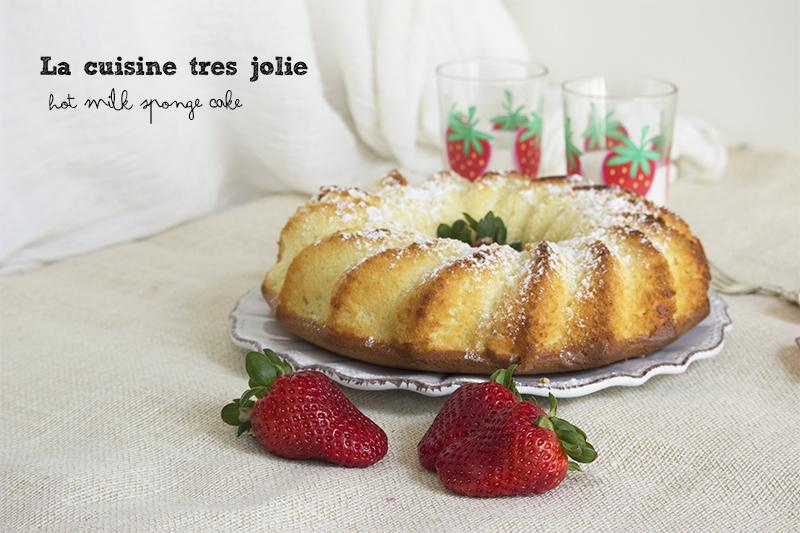 hot milk sponge cake 1