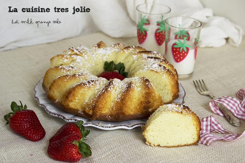 hot milk sponge cake 4