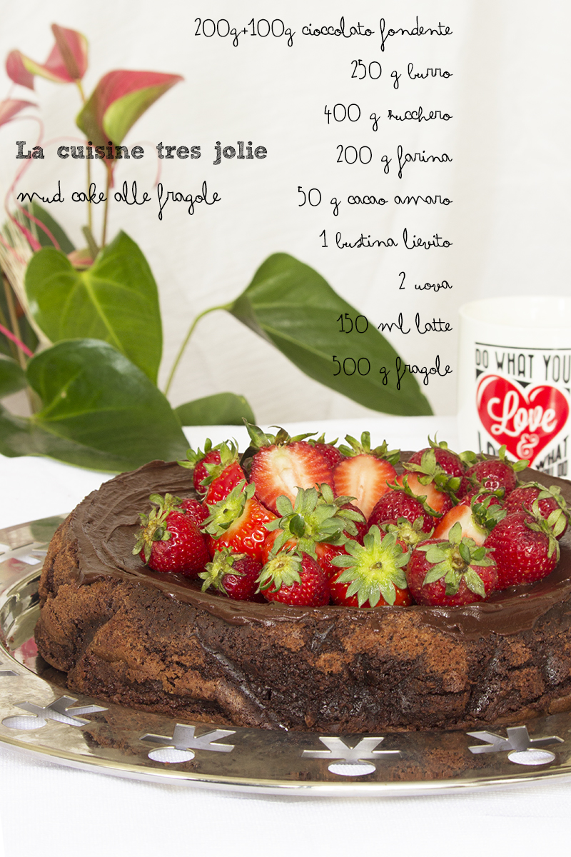 mud cake alle fragole 2
