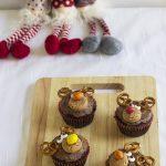 Muffin a forma di renna