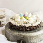 Cheesecake ciocorì con ovine confettate