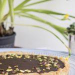 Crostata al cioccolato e pistacchi
