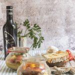 Zuppa-di-pesce-in-vasocottura con zafferano e olio Schinosa