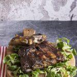 Costine al forno alla salsa barbecue
