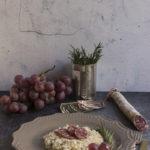 Risotto di uva e salsiccia Casareccia Clai