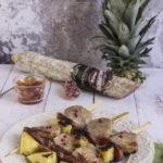 Spiedini di filetto di maiale, ananas e salame Contadino Clai