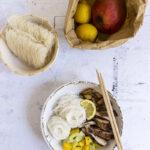 Pollo thai al mango