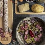 Rosti di lenticchie e Salsiccia Passita Clai salumi
