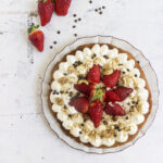 Crostata di fragole allo yogurt